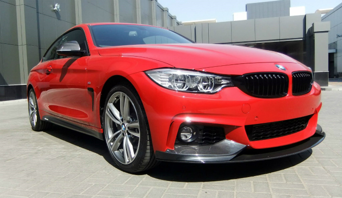 BMW-4er-F32-Tuning-M-Performance-Zubehoer-435i-Coupe-rot-12