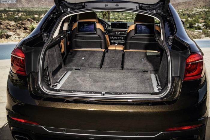 2014-BMW-X6-F16-Kofferraum-Rueckbank-umgeklappt-04