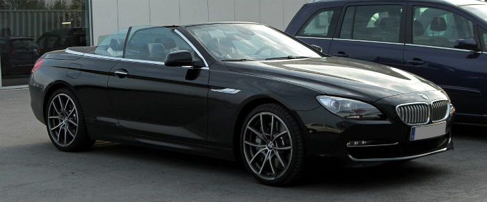 BMW_650i_Cabriolet_(F12)_–_Frontansicht,_8._April_2011,_Mettmann