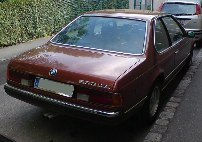 BMW_633_CSi_Rear