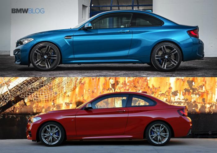 BMW-M2-vs-BMW-M235i