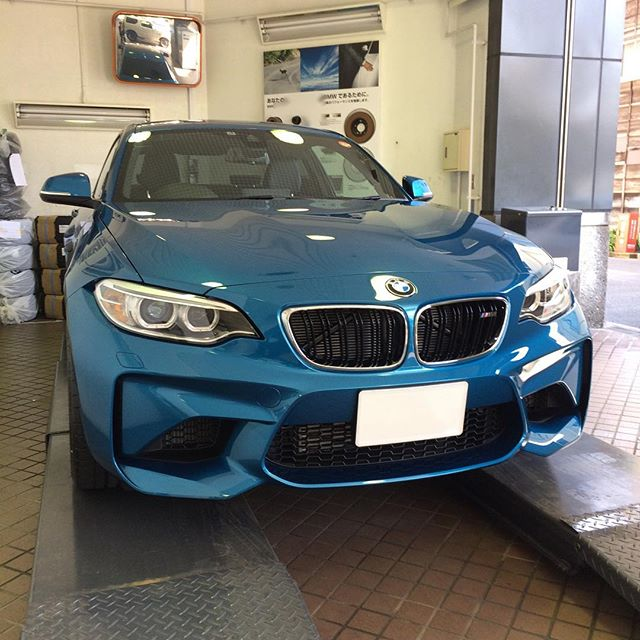 BMW M2 coupe first shot - [Instagram]