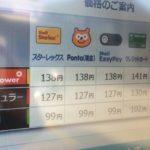 もしかしてガソリン価格上がってる?