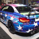 Laurel Motorsport M2クーペ[F87]の動画。カラーリングがすごい!