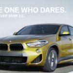 BMW X2[F47]のCMコマーシャル[カナダ版:15秒Ver]