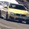 BMW M4クーペ[F82]が山道を走っている動画。こんな景色が良いところを走ってみたい!
