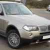 BMW X3開発コード(モデルコード)一覧【写真付き】